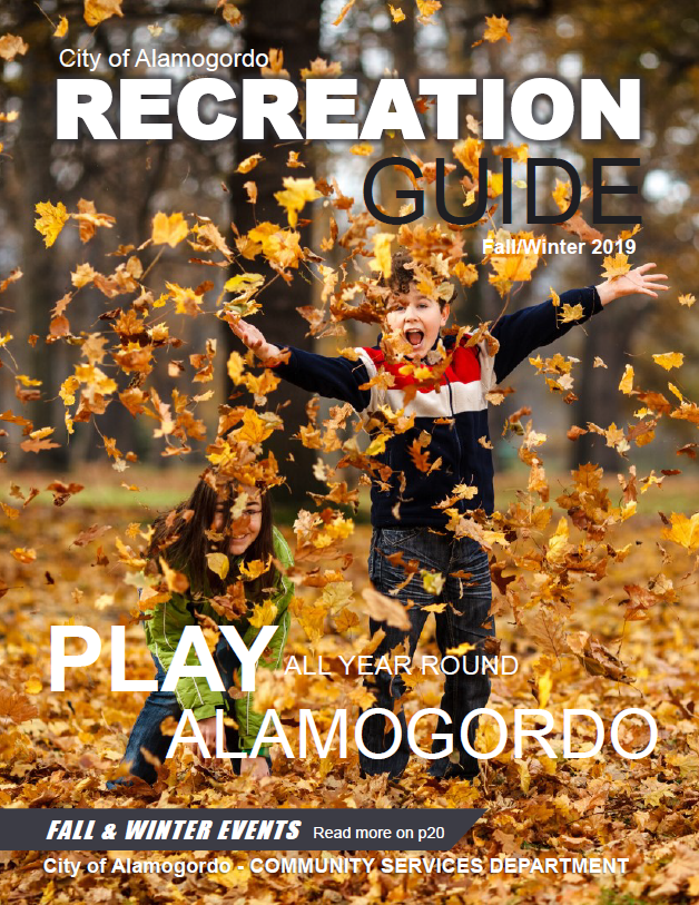 2019 Fall Activity Guide Cover