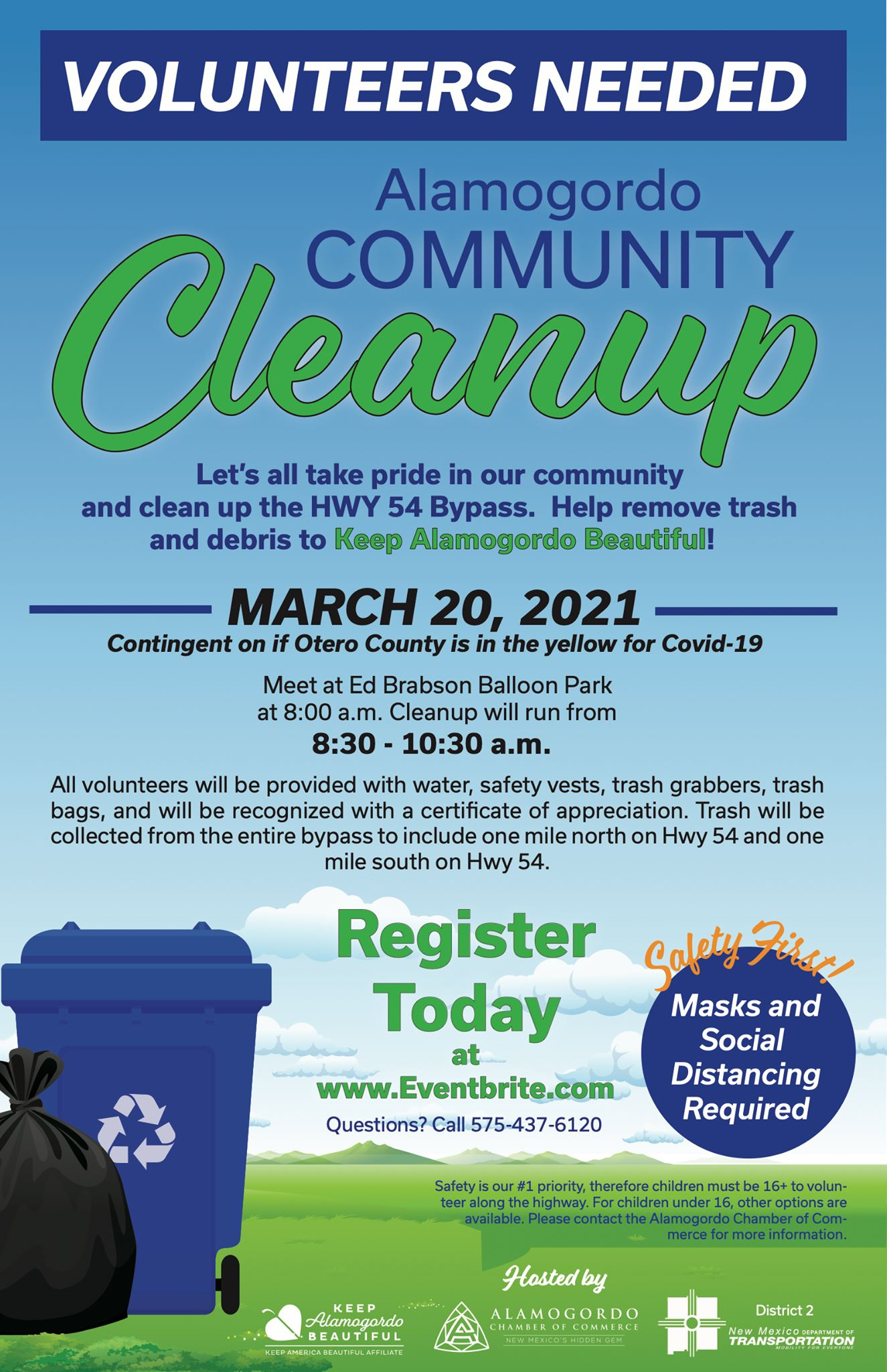 Community Cleanup with Chamber