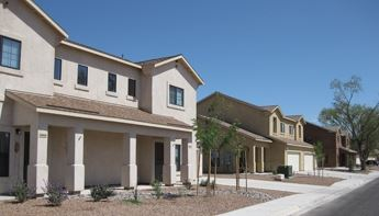 Photo of housing unit at Holloman Air Force Base
