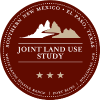 The Southern New Mexico – El Paso, Texas Joint Land Use Study logo