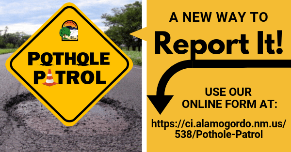 Pothole Patrol, Community Spotlight button