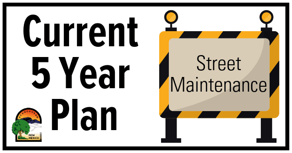 Street Maintenance Plan