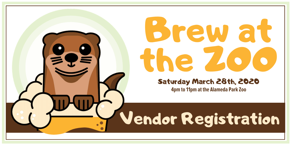 Brew at the Zoo 2020 Vendor Registration Button