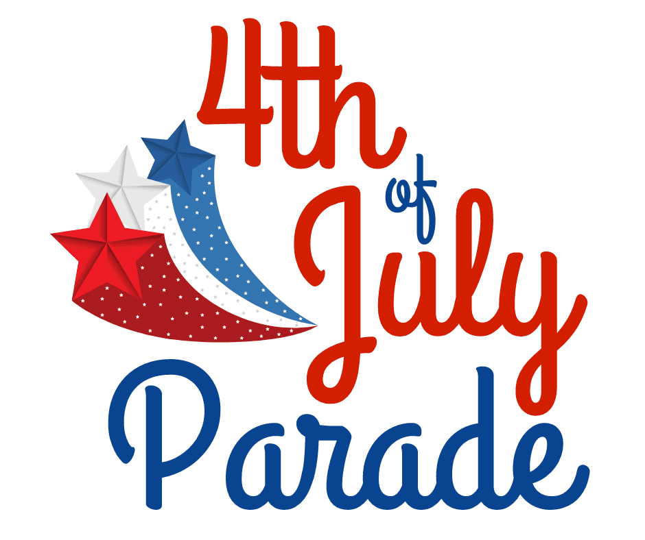 July 4th Parade Logo
