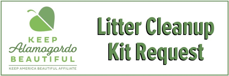 Litter Cleanup Kit Request Button