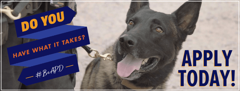 APD Cover Recruitment K9